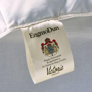 EngmoDun Victoria Ejderduntäcke Label