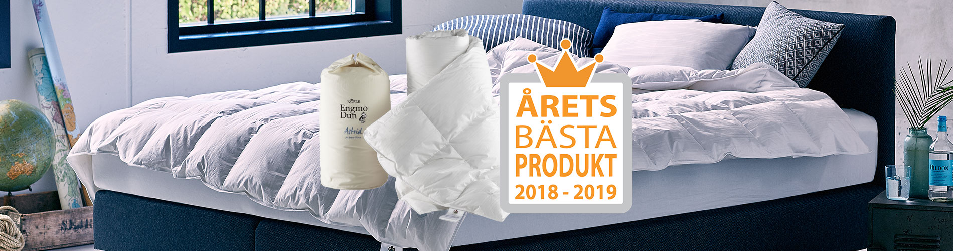 Rösta för EngmoDun Astrid som årets bästa produkt här